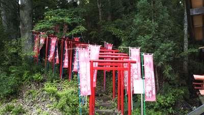 呑香稲荷神社の鳥居
