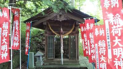 呑香稲荷神社の末社