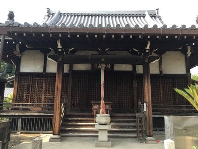 佐井寺の本殿