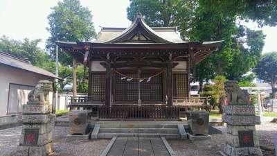 埼玉県八幡神社の本殿