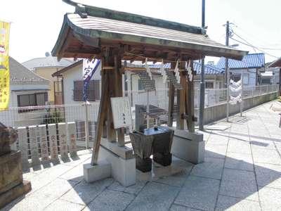 杉山神社の手水