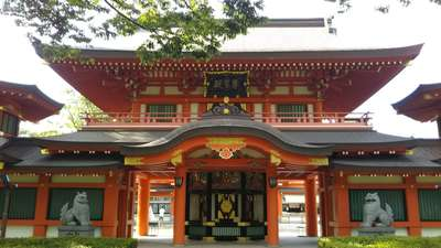 千葉神社の山門