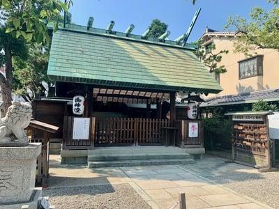 朝日神明社の本殿