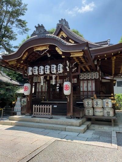 京都府安井金比羅宮の本殿