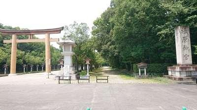 奈良県橿原神宮の鳥居