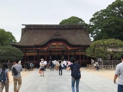 福岡県太宰府天満宮の本殿