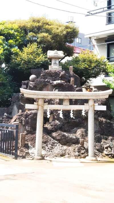 東京都綾瀬稲荷神社の写真
