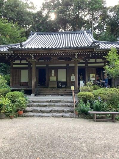 岩船寺の本殿