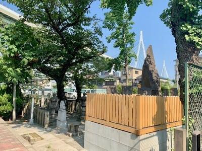 白浪大神鴉宮神社御旅所北港桜島神社(大阪府)