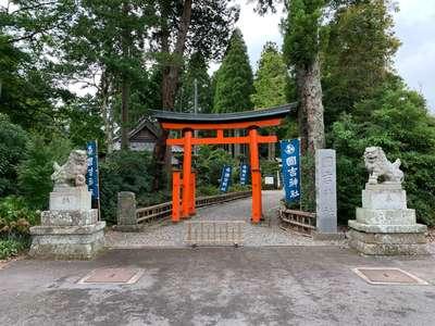 國吉神社の鳥居