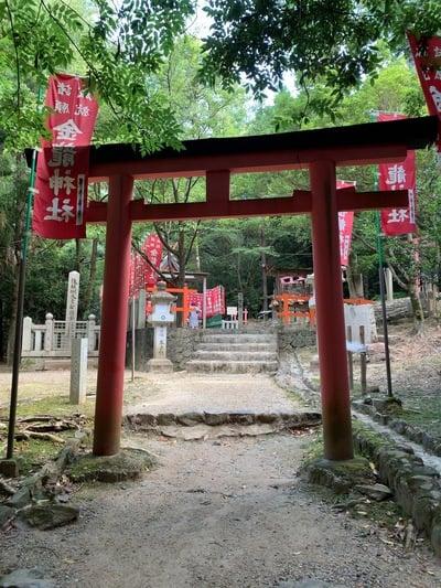 奈良県春日大社の鳥居