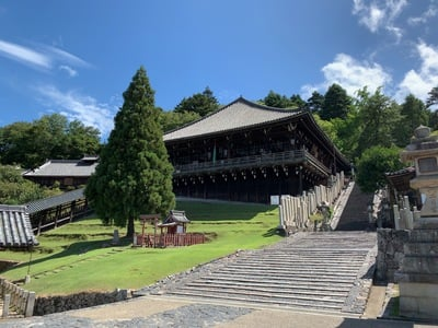奈良県東大寺二月堂の写真