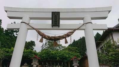 宮城県金蛇水神社の鳥居