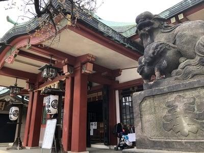 東京都品川神社の本殿