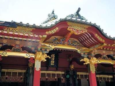 根津神社の本殿