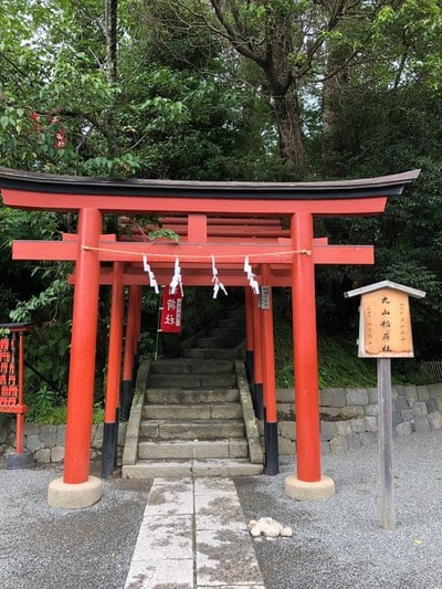 神奈川県鶴岡八幡宮の鳥居