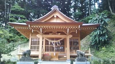 武内神社の本殿
