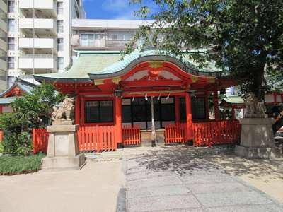 兵庫嚴島神社の本殿