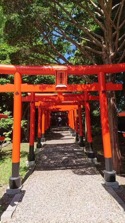 湯倉神社の鳥居