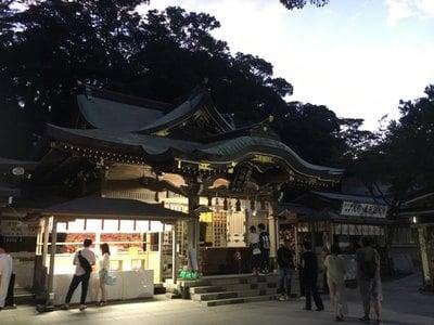 江島神社の本殿