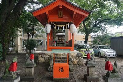 岐阜県加納天満宮の本殿
