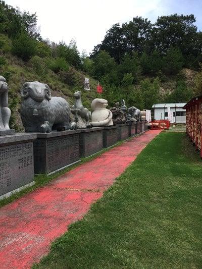 白崎八幡宮の狛犬