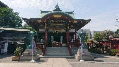 羽田神社の本殿