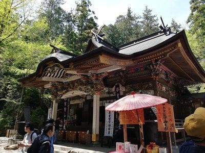 宝登山神社の本殿