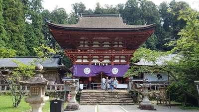 和歌山県丹生都比売神社の本殿