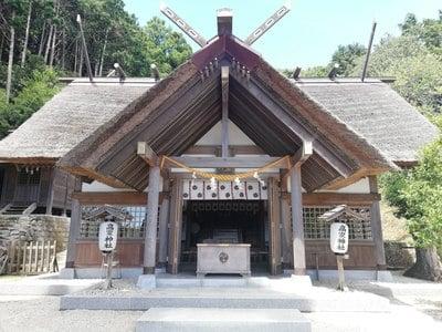 高家神社の本殿