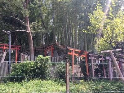 瓢箪山稲荷神社の末社