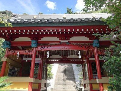 洲崎神社の山門