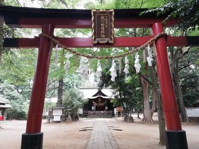 氷川女体神社の鳥居