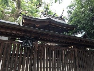 梶無神社の本殿