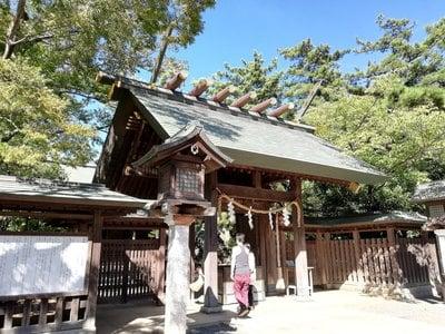 意富比神社の本殿