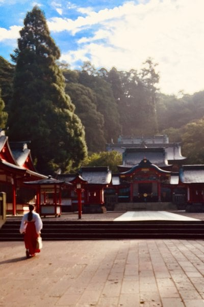 霧島神宮の本殿