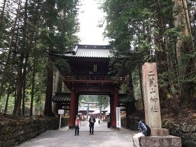 栃木県日光二荒山神社の山門