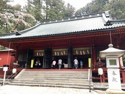 栃木県日光二荒山神社の本殿