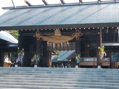 北海道北海道神宮の山門