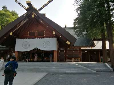 北海道北海道神宮の本殿
