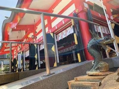 富山県日枝神社の本殿