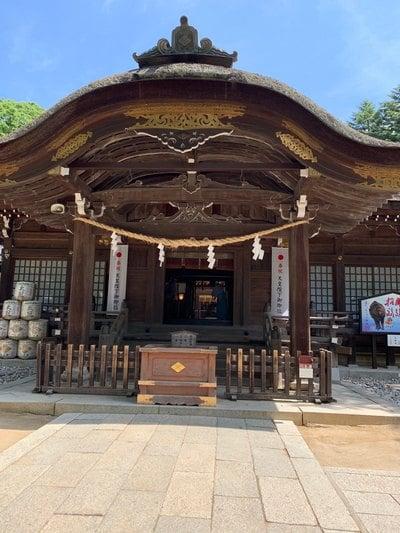山梨県武田神社の本殿