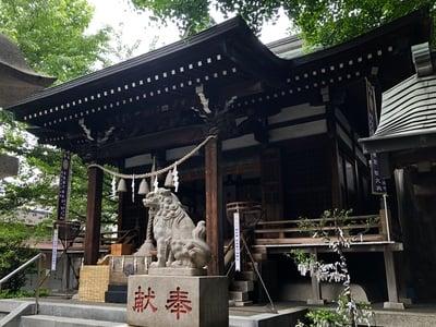 東京都宇迦八幡宮の本殿