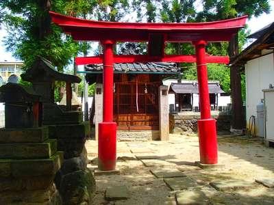 長野県幣川神社の鳥居