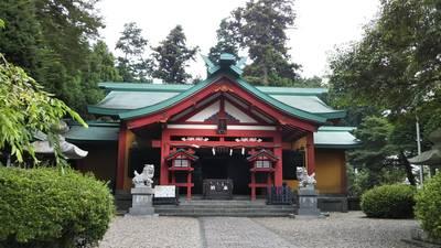 新橋浅間神社の本殿