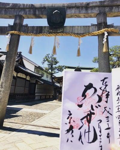 京都ゑびす神社の鳥居