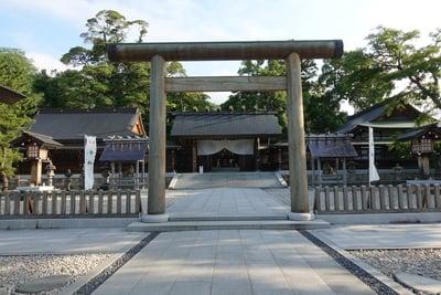 籠神社の本殿