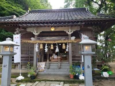 高祖神社の本殿