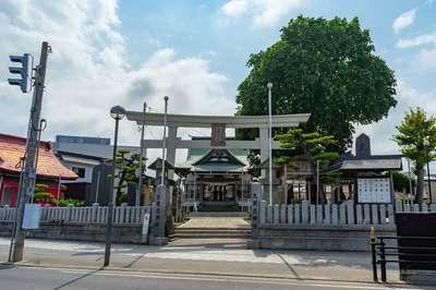 青森県久須志神社の写真