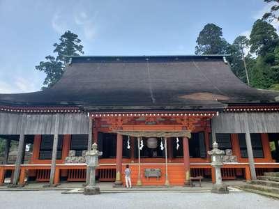 英彦山神宮の本殿